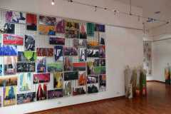 Installazione foto e sculture
