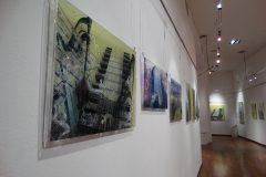 Installazione digital art su plexiglas