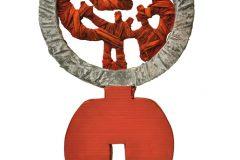 scultura-cartone-resina40x65x8cm