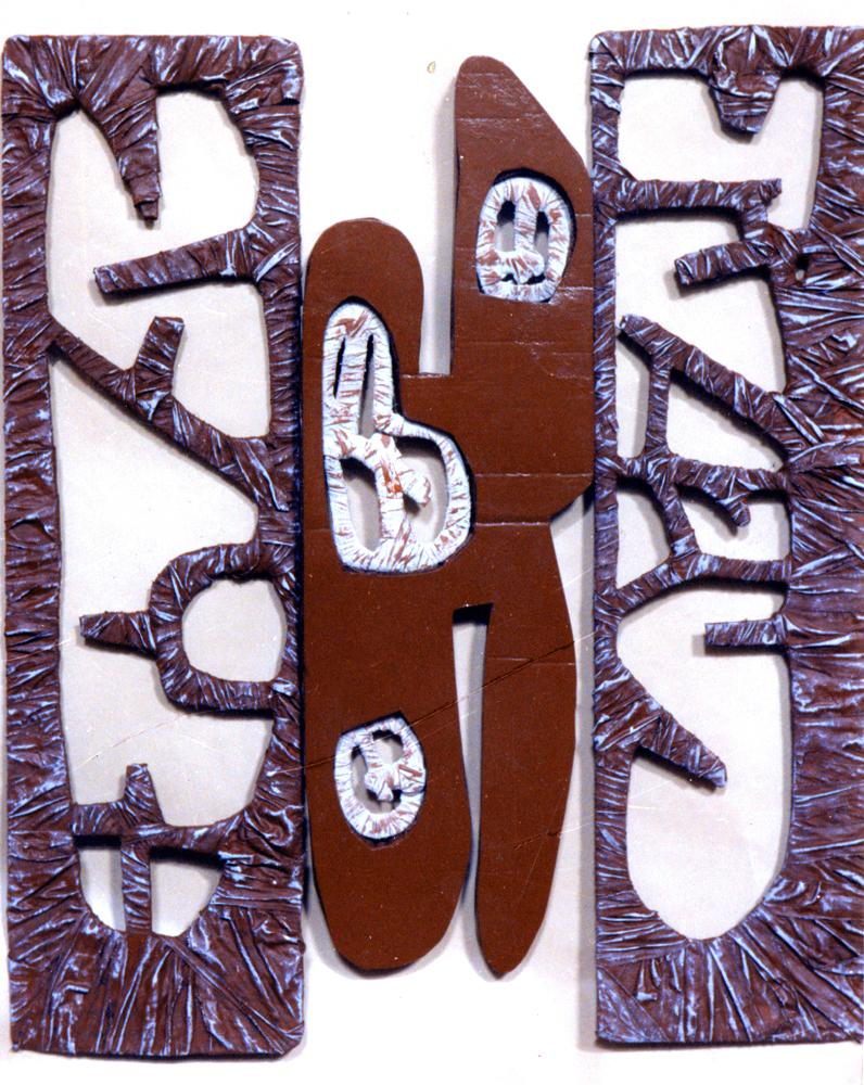 3,instalazione,cartone policromo,1,00x1,20cm