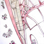 frafite, acrilico su tela,60x80cm