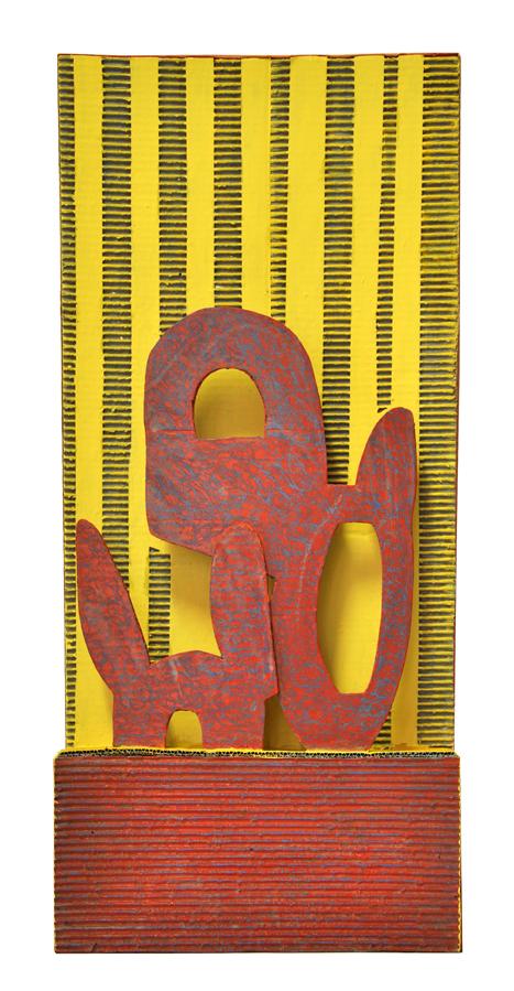 scultura policroma,1,00x60cm
