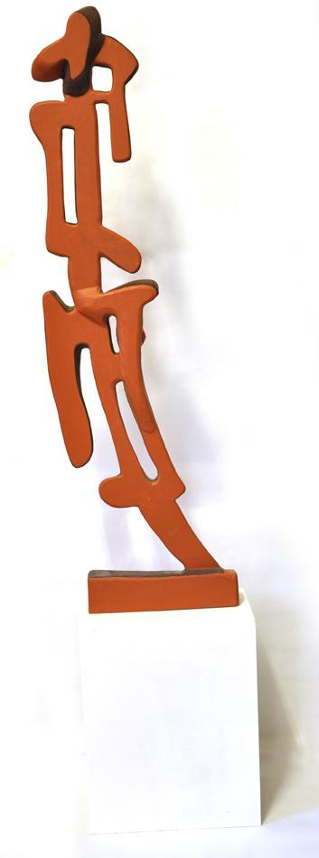scultura policroma,legno 1,20x60cm