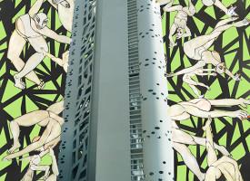 Francia-Berlino |  stampa digitale in carta fotografica su pvc / plexiglas, misura 50x70cm